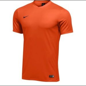 NIKE PRO FITTED Orange Top Workout Activewear XL